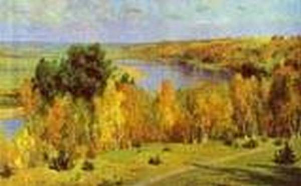 golden autumn 1893 XX tula region russia